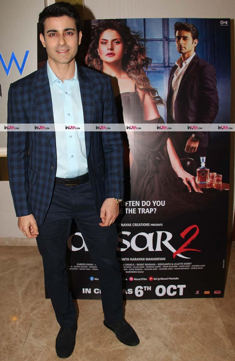 Gautam Rode at the trailer launch of Aksar 2