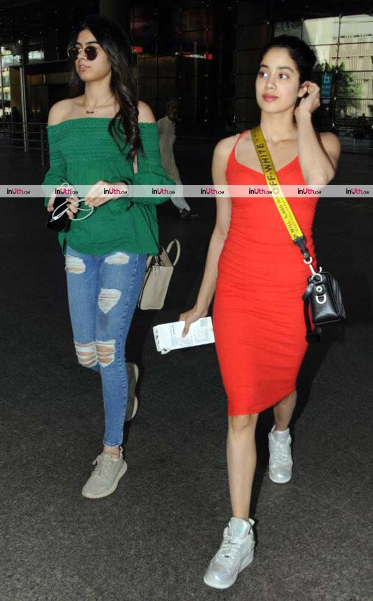 Jhanvi and Khushi Kapoor are the airport style queens