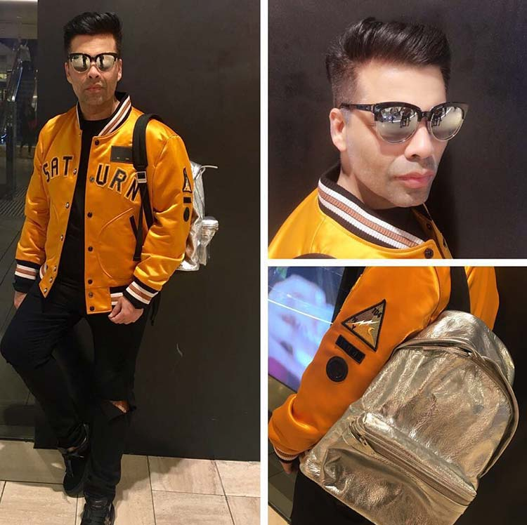 Karan Johar's first day in Melbourne for IFFM