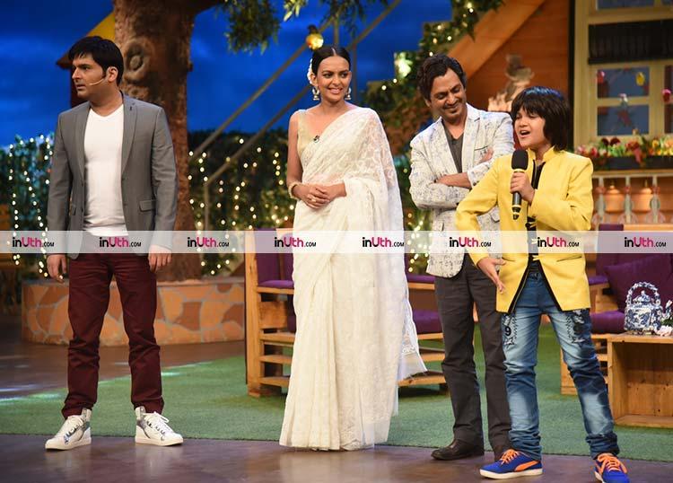 Babumoshai Bandookbaaz promotions on The Kapil Sharma Show