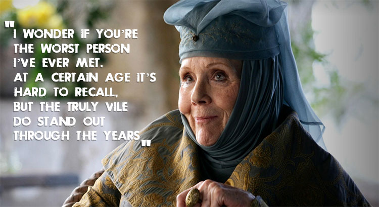 Olenna Tyrell Grading Cerseis Personality