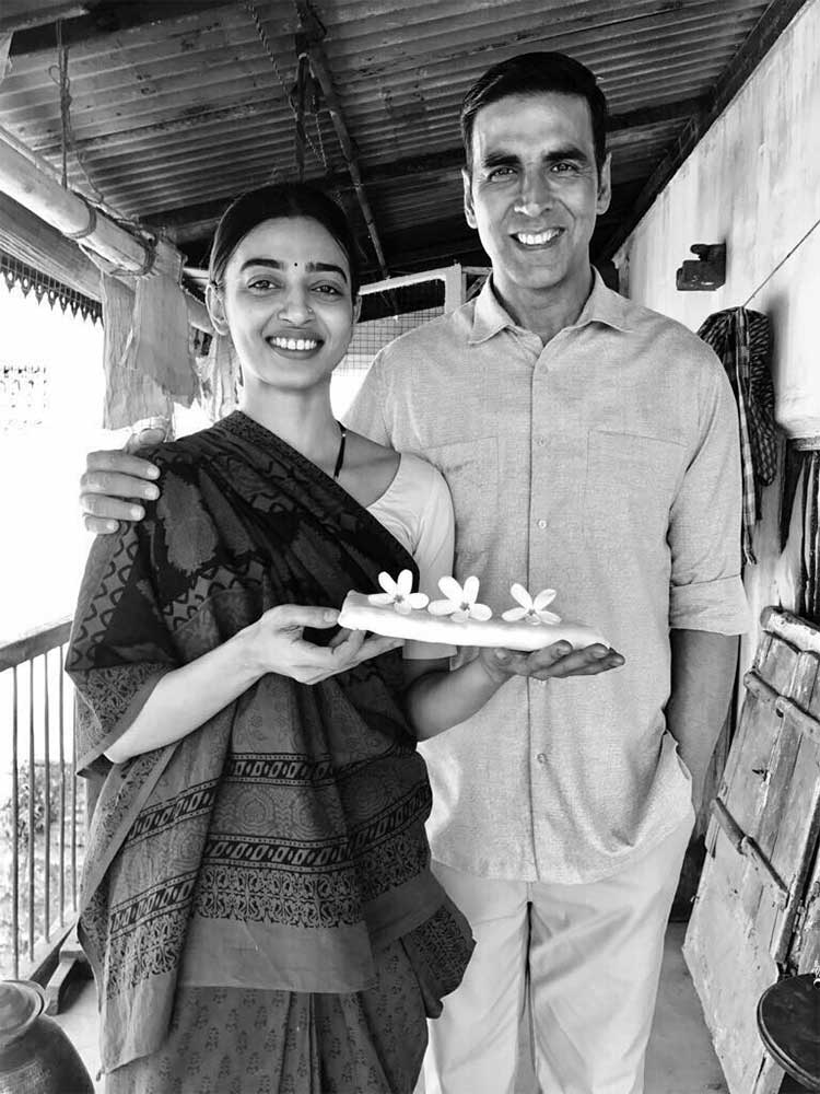 Radhika Apte and Akshay Kumar's first look from Padman