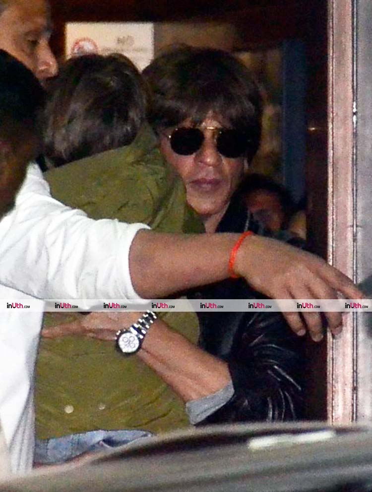 Shah Rukh Khan spotted at Mumbai airport after returning from Ahmedabad