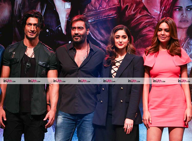 Team Baadshaho at the trailer launch event
