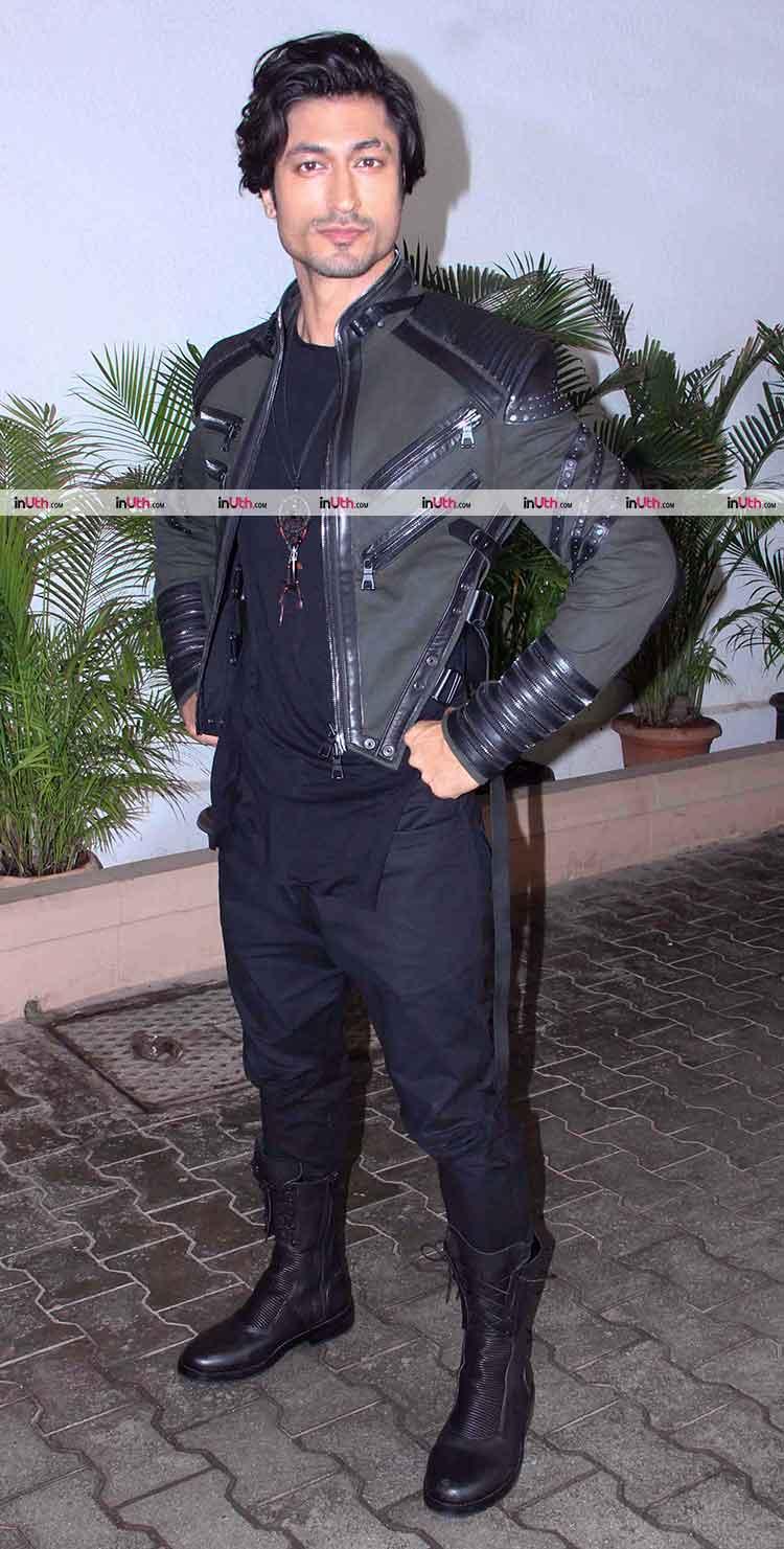 Vidyut Jammwal at Baadshaho promotions