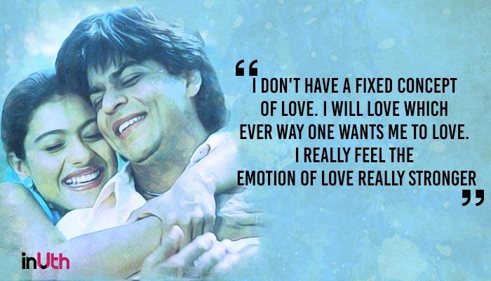 Shah Rukh Khan and Kajol in Dilwale Dulhaniya Le Jaayenge (Treatment by InUth, Chetan Kamal), inuth.com