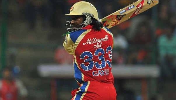 Chris Gayle and his jersey number 333