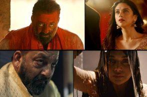 Sanjay Dutt, Bhoomi Trailer