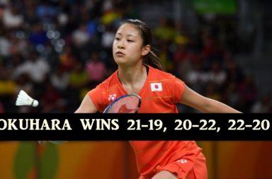 Okuhara wins