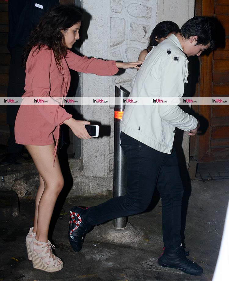 Aarav Bhatia snapped with a mystery girl