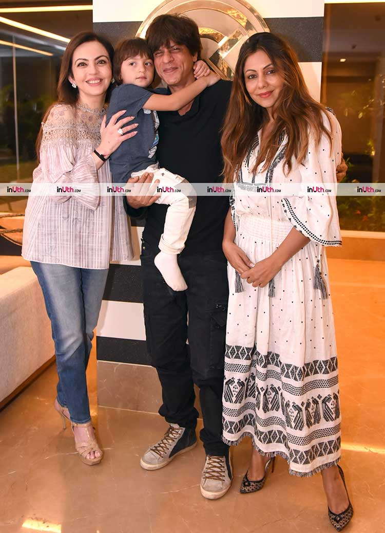 AbRam visits mommy Gauri Khan's store