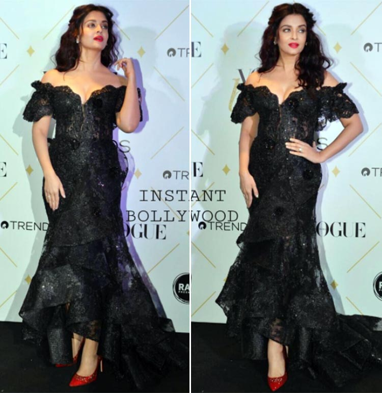Aishwarya Rai Bachchan at Vogue Beauty Awards 2017