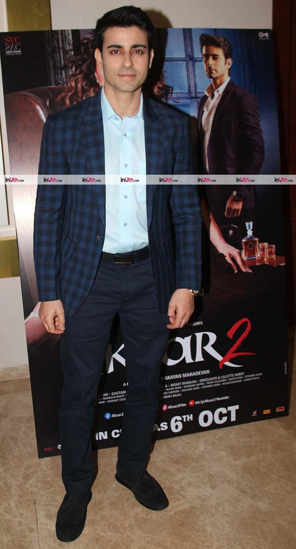 Aksar 2 antagonist Gautam Rode at trailer launch event