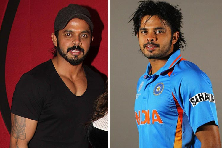 It seems like S. Sreesanth had been working out