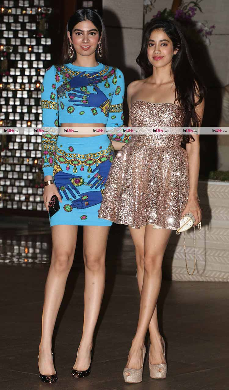 Jhanvi and Khushi Kapoor's party style game is on fleek