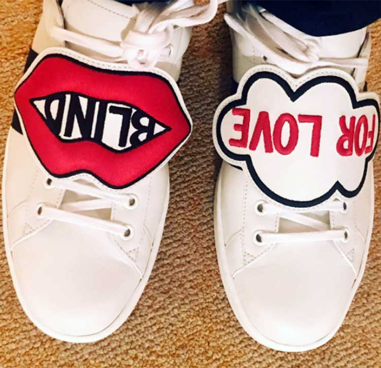 Karan Johar's quirky shoes for an outing in New York