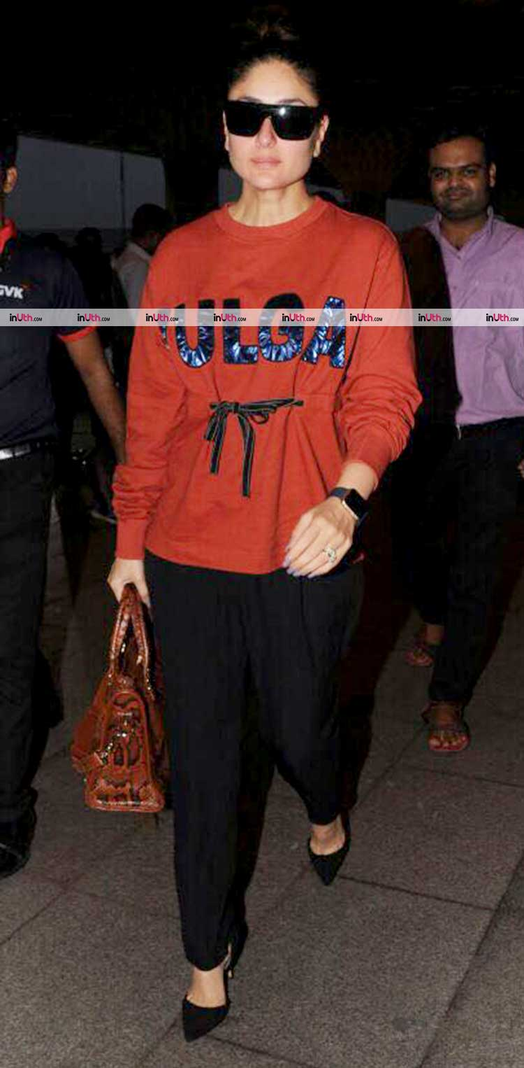 Kareena Kapoor leaving for Delhi to shoot for Veere Di Wedding
