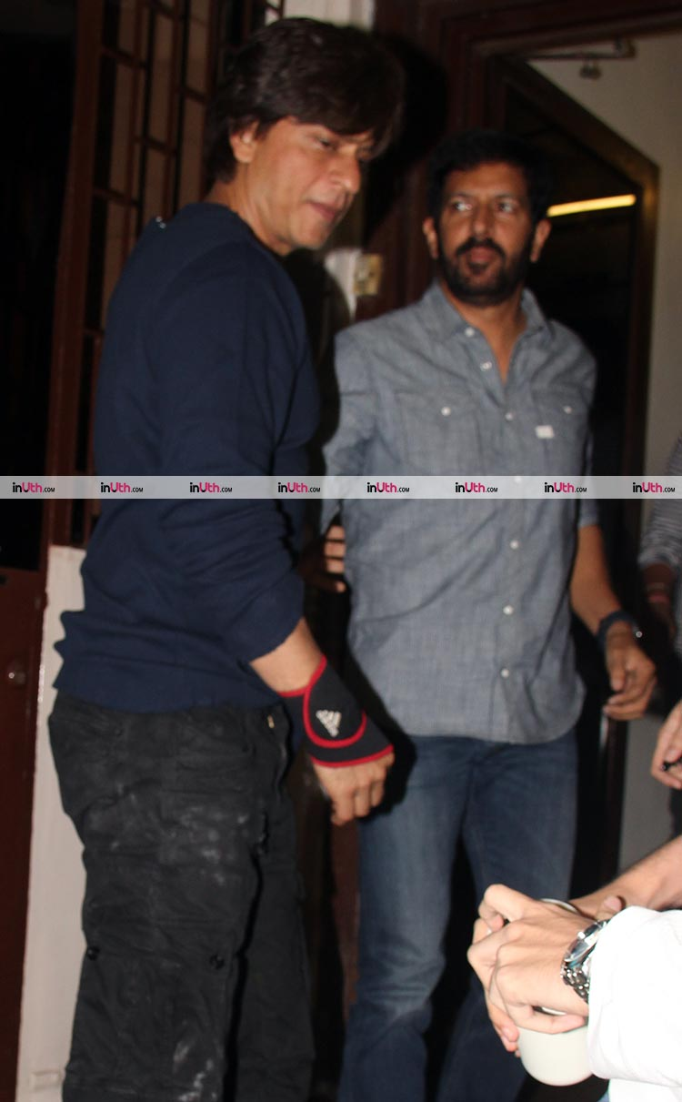 Shah Rukh Khan spotted with Kabir Khan