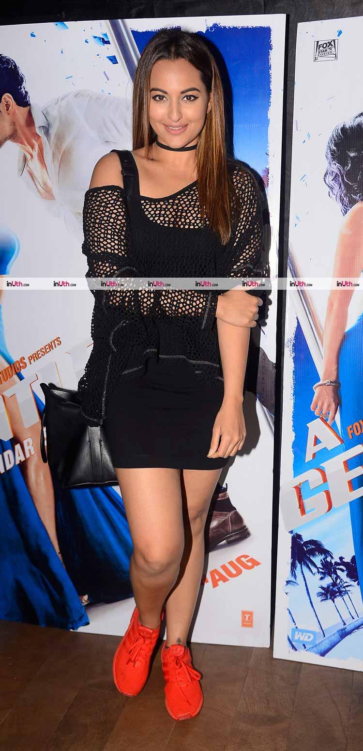 Sonakshi Sinha at A Gentleman screening
