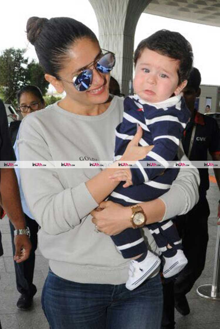 Taimur doesn't want to go away from home with Kareena Kapoor