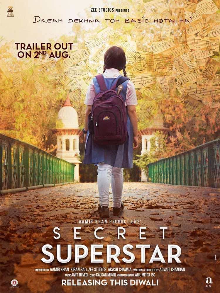 The first look of Secret Superstar looks like freedom