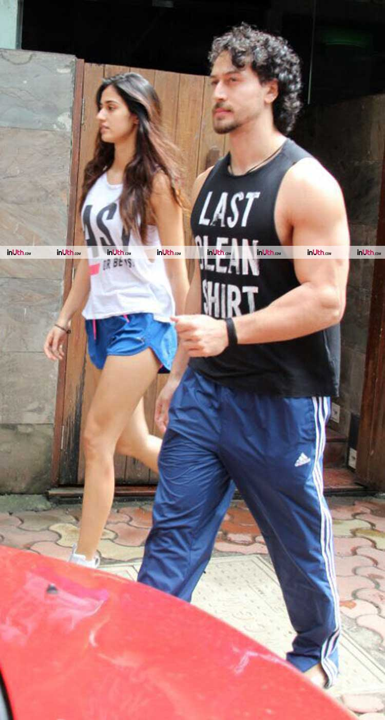 Tiger Shroff and Disha Patani after a dinner date