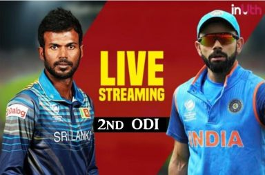 India vs Sri Lanka 2nd ODI Pallekele Live Streaming