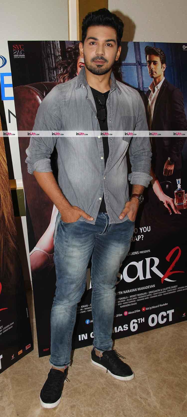 Abhinav Shukla at the trailer launch of Aksar 2