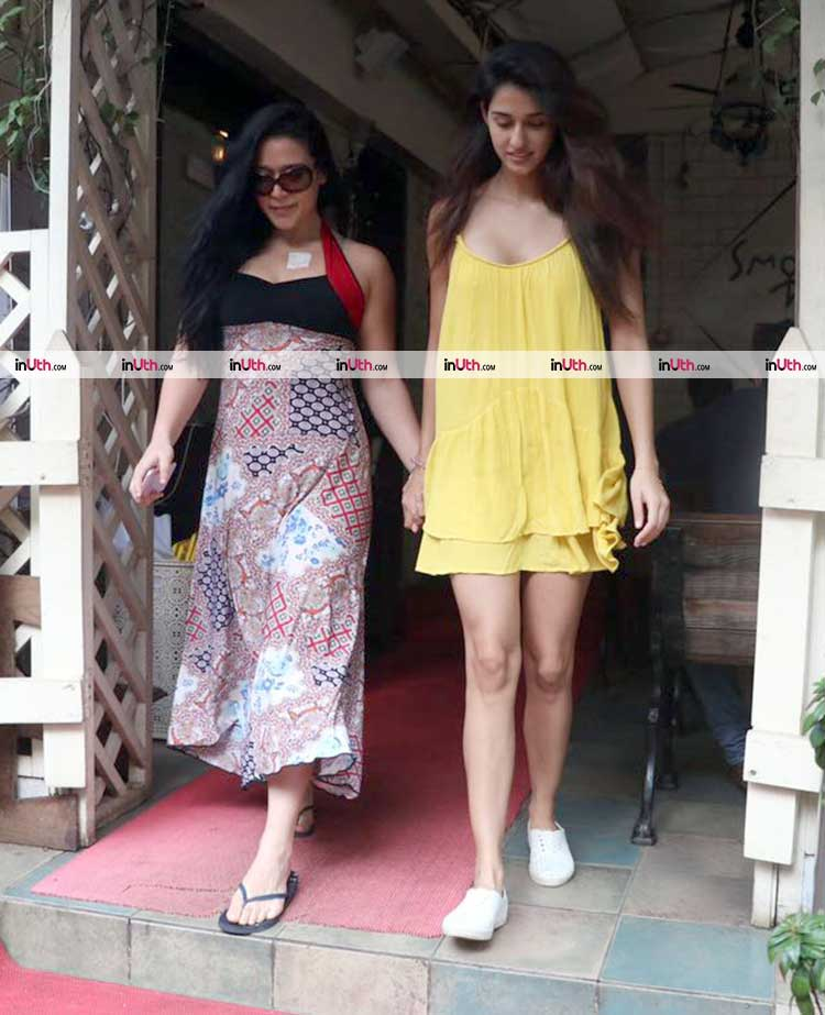 Disha Patani looked beautiful in her sunny yellow dress
