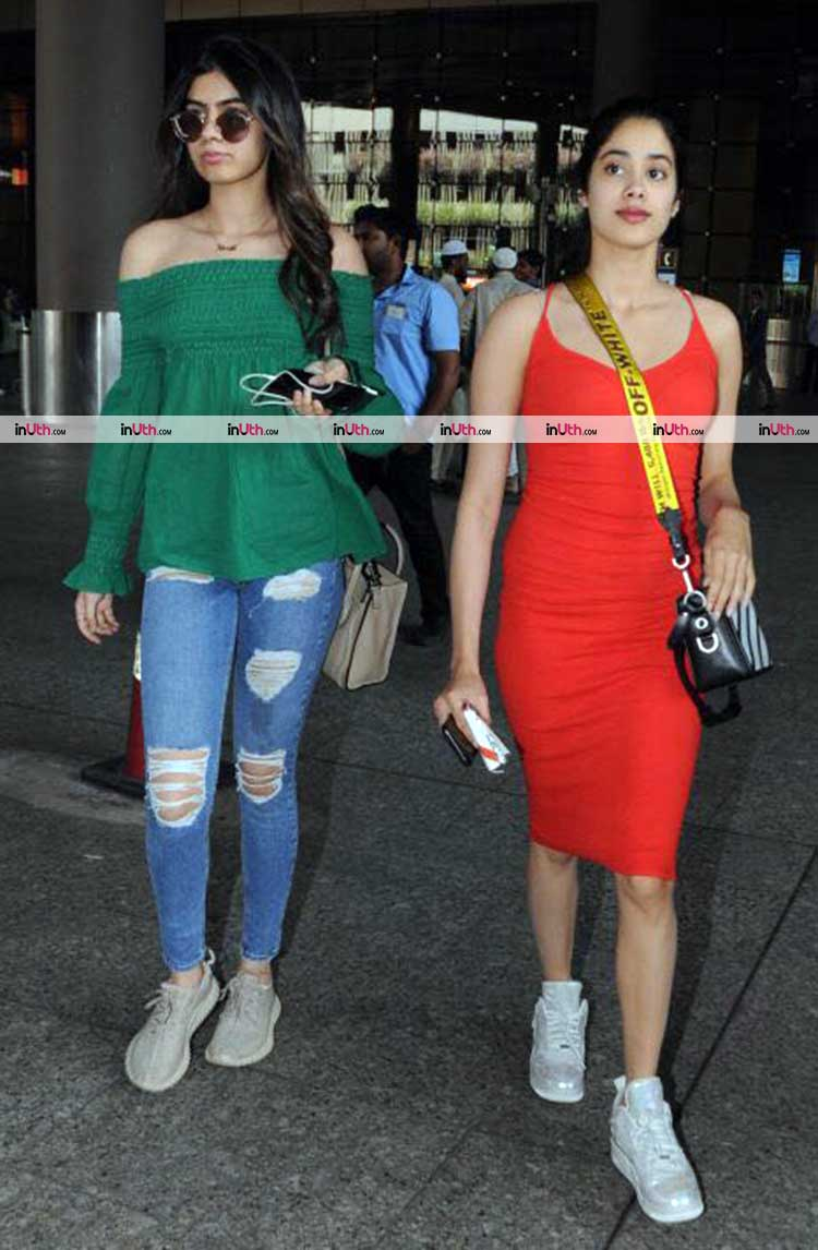 Jhanvi and Khushi Kapoor can make airport the official runway