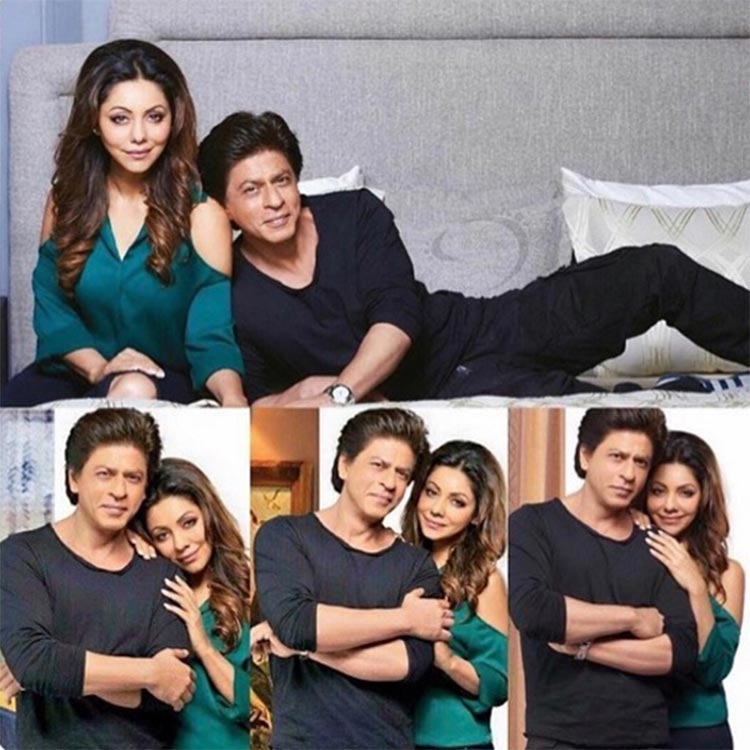 Shah Rukh and Gauri Khan from a super lovely couple