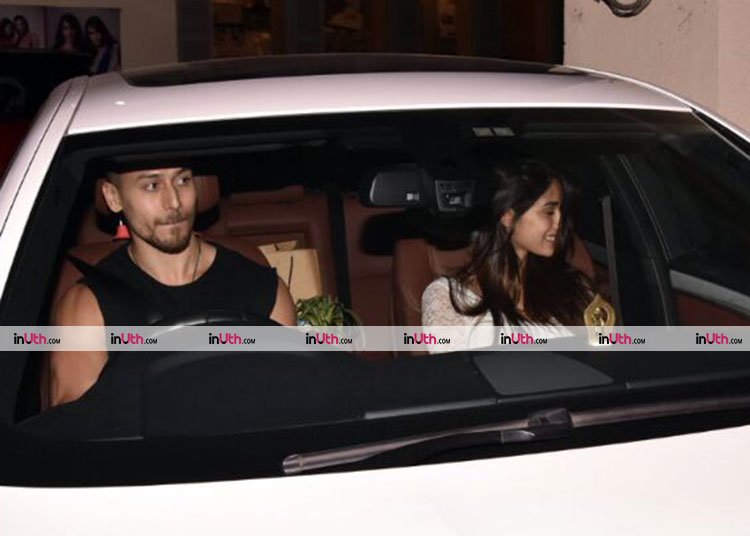 Tiger Shroff and Disha Patani catch a movie together