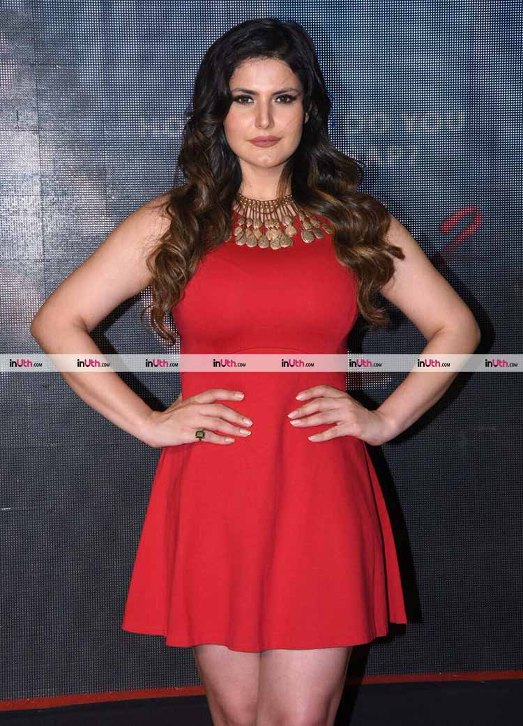 Zarine Khan at the second trailer launch of Aksar 2