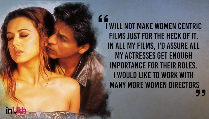 Shah Rukh Khan and Preity Zinta in Veer Zaara (Treatment by InUth, Chetan Kamal), inuth.com