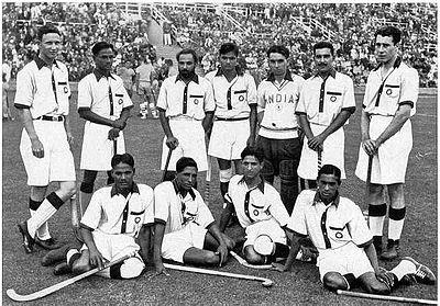 Indian Hockey Team in 1936 Olympics