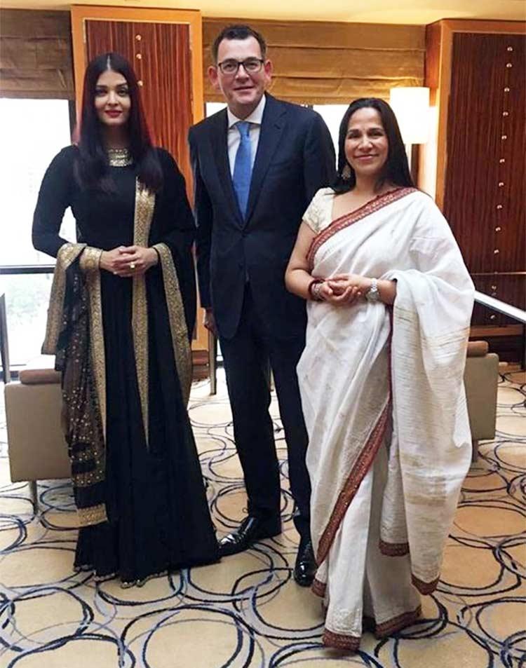 Aishwarya Rai Bachchan in Melbourne for IFFM