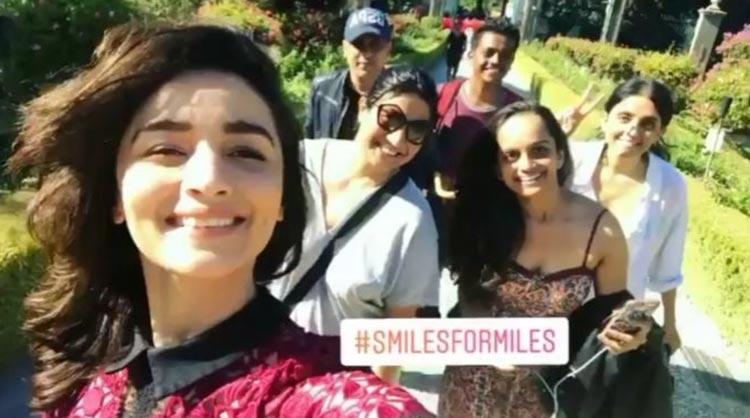 Alia Bhatt spreading smiles for miles in Italy