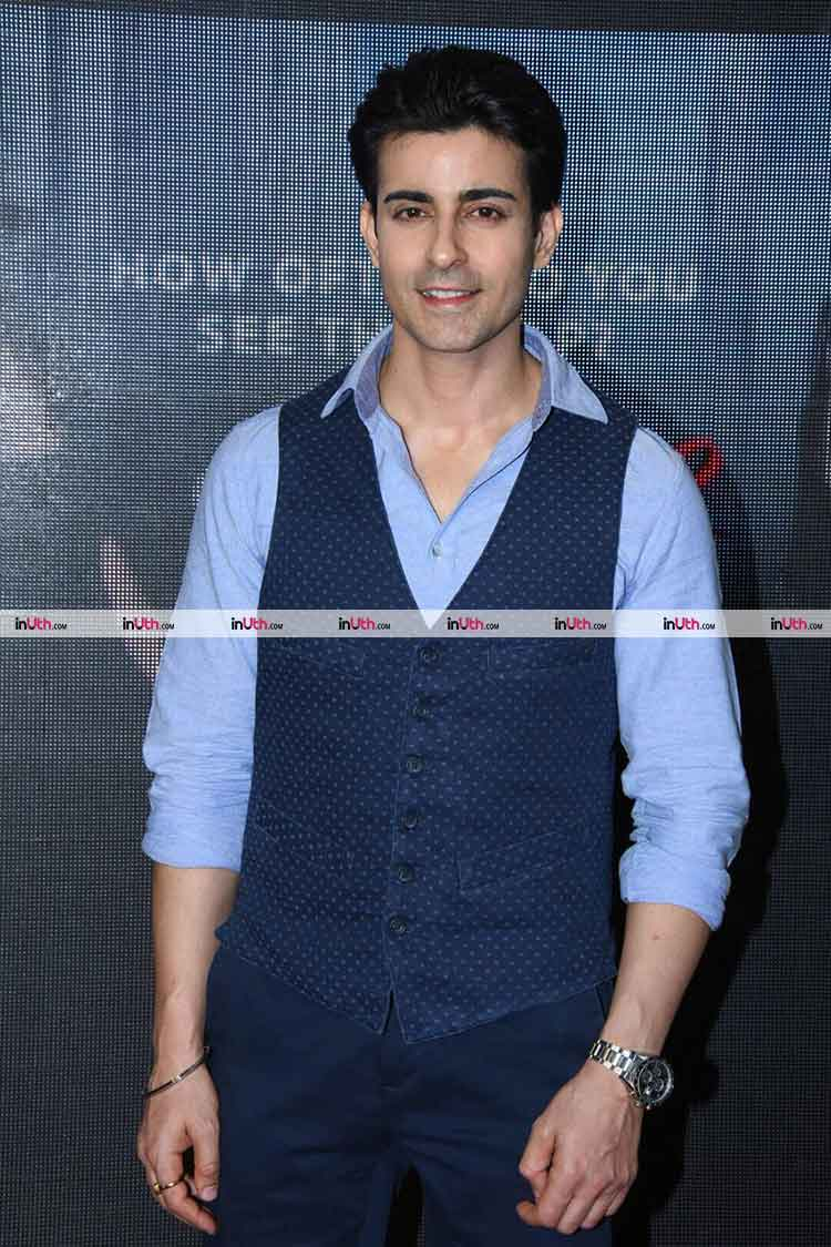 Gautam Rode at the second trailer launch of Aksar 2