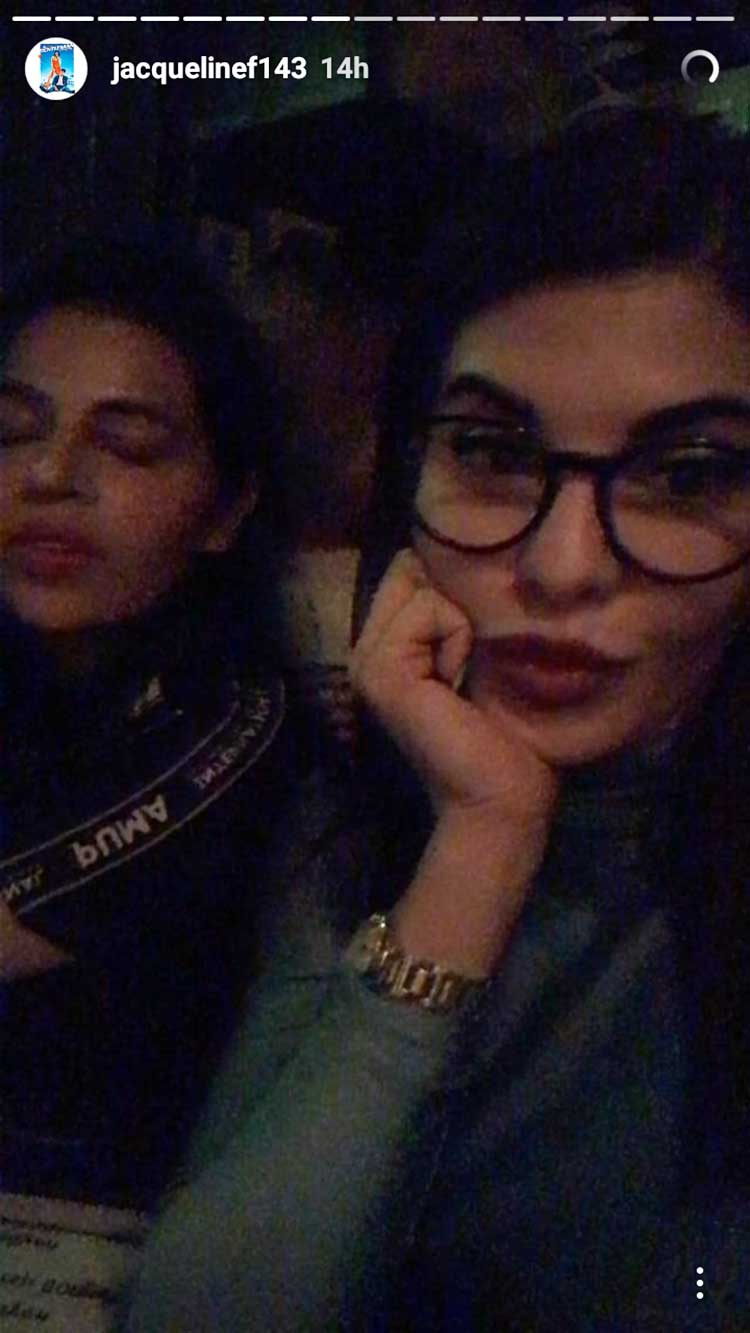 Jacqueline Fernandez clicking birthday selfies