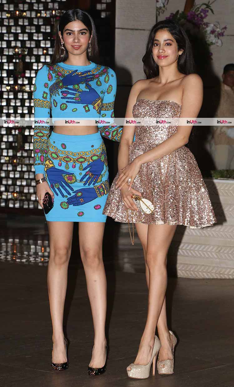 Jhanvi and Khushi Kapoor being amazing like always