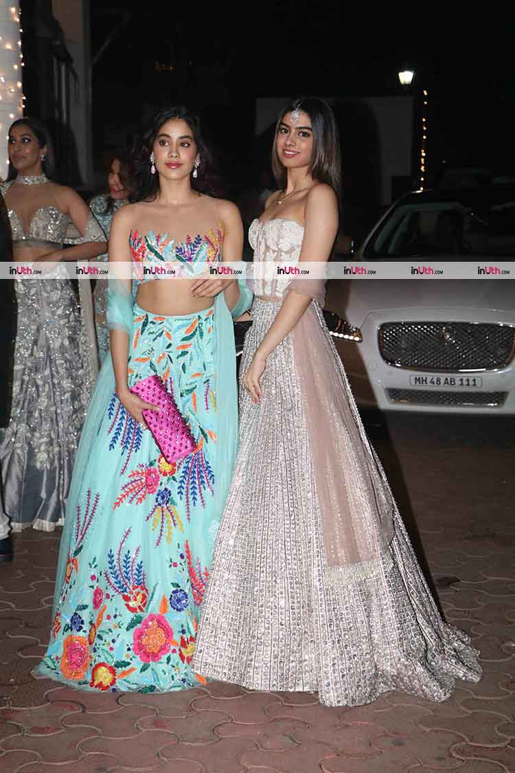 Jhanvi and Khushi Kapoor slaying at Aamir Khan's Diwali party