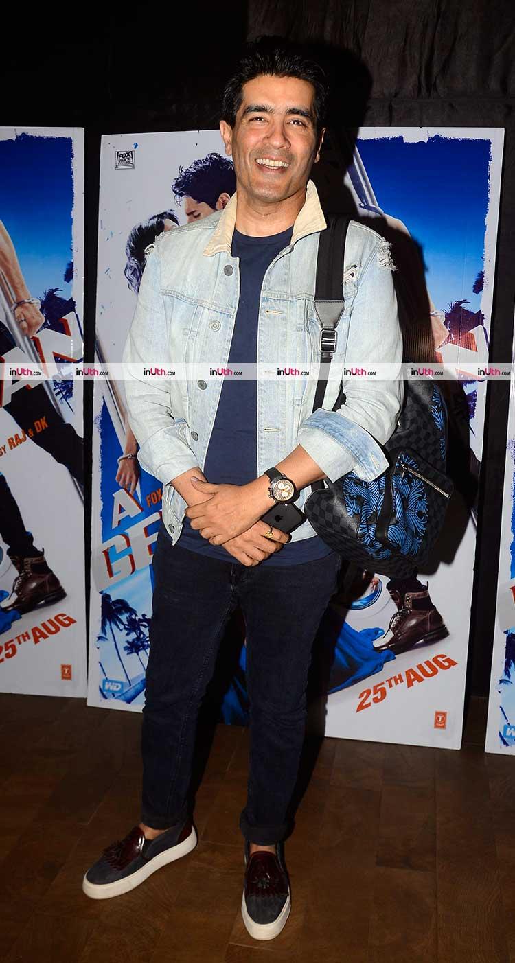 Manish Malhotra at A Gentleman screening