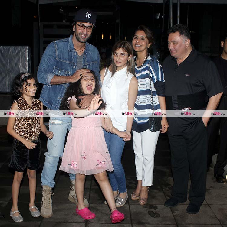 Ranbir Kapoor in a playful mood with Samara