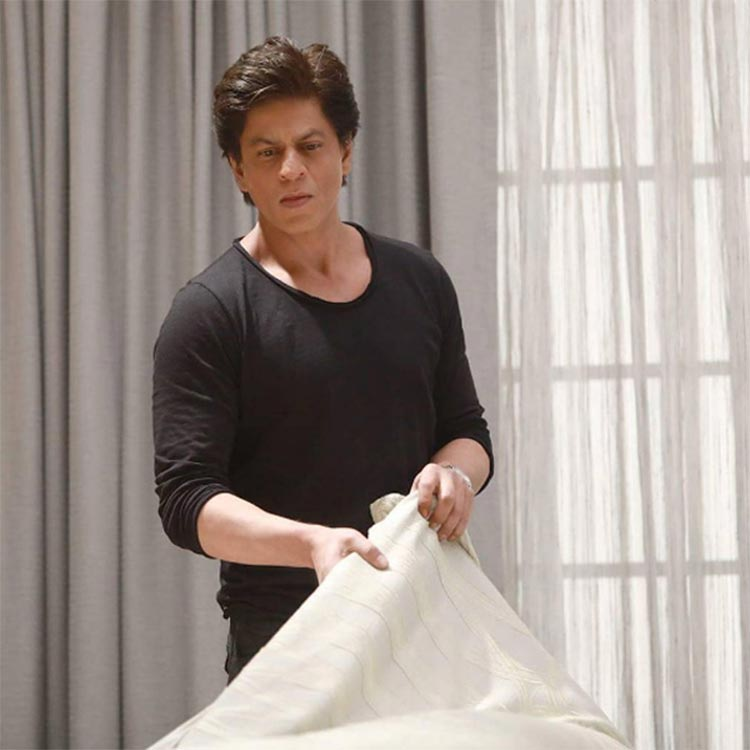 Shah Rukh Khan in a still from his new ad film