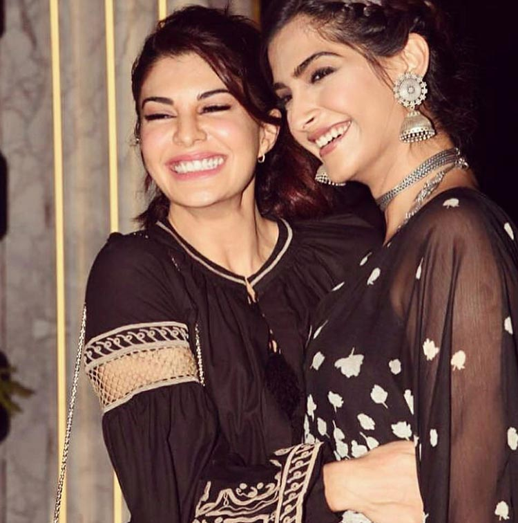 Sonam Kapoor and Jacqueline Fernandez are always there for one another