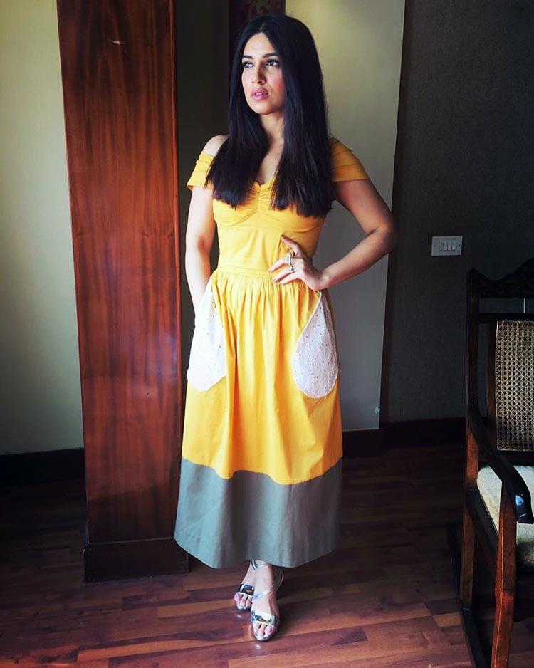 Bhumi Pednekar dolled up for Toilet: Ek Prem Katha promotions