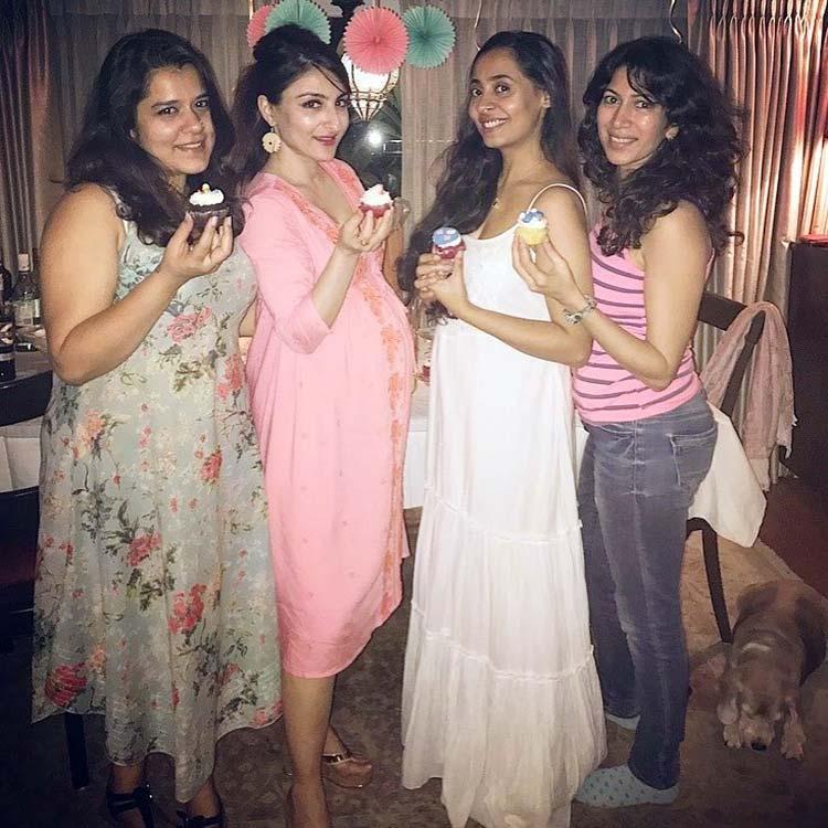 Cupcake Heaven at Soha Ali Khan's baby shower