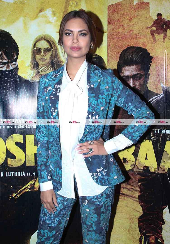 Esha Gupta at Baadshaho promotions