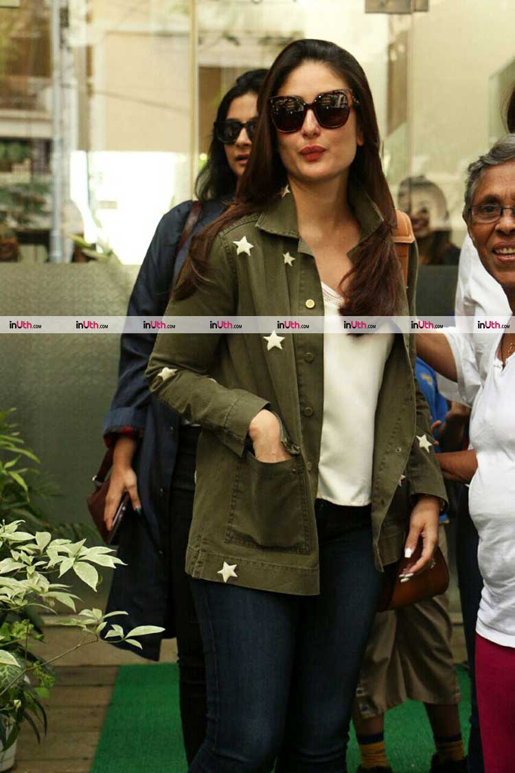 Kareena Kapoor spotted in Mumbai for Veere Di Wedding preparations