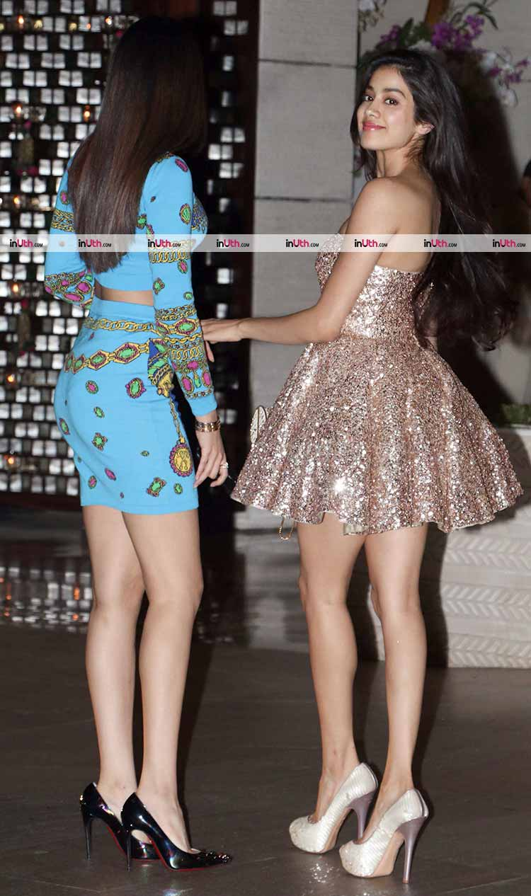 Khushi and Jhanvi Kapoor are high on style